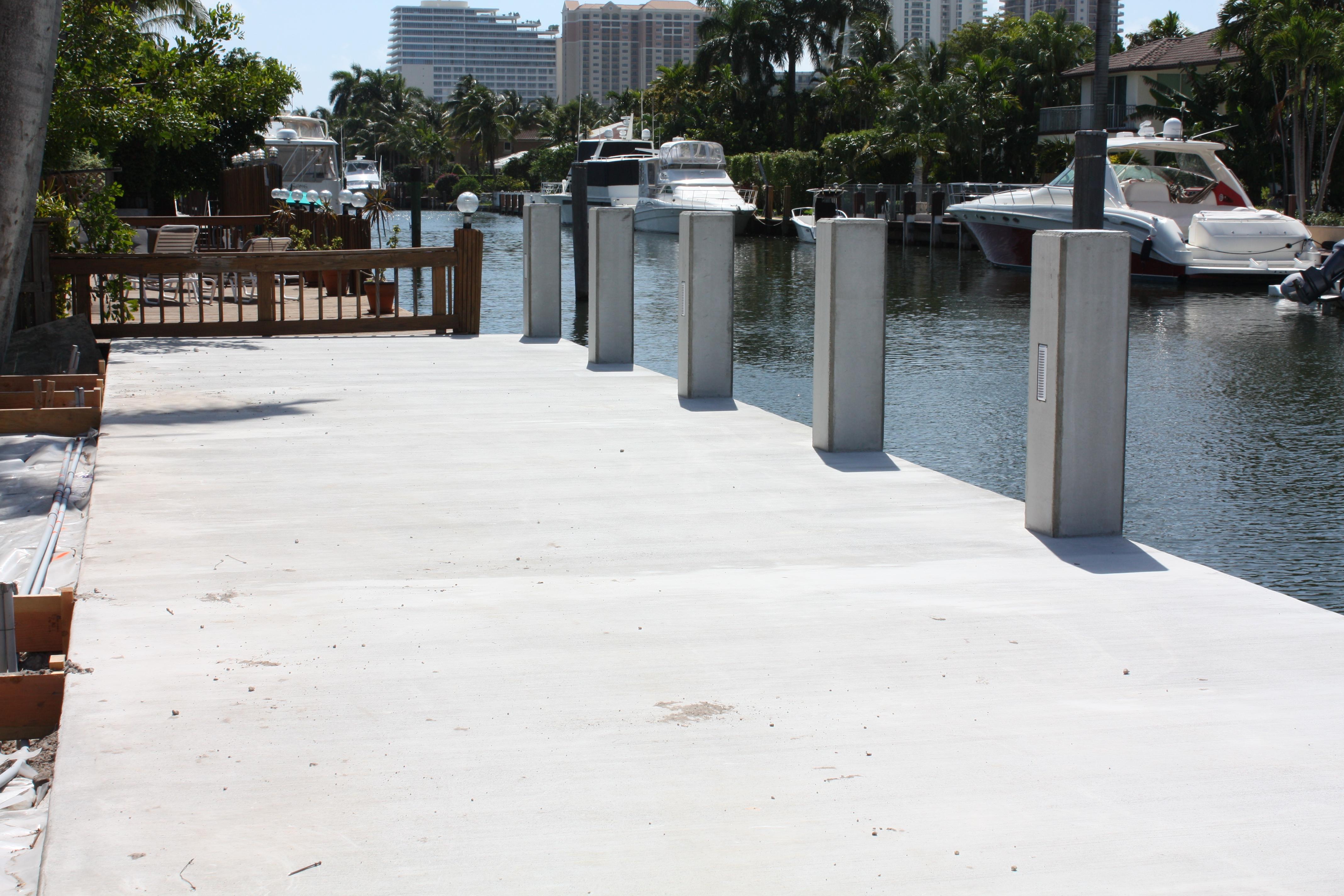 Concrete Dock